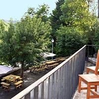 Chambre avec balcon, vue sur Conques
