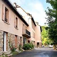 Chez François, gîtes à Conques - La façade
